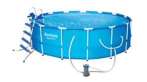 Hydro-Force Steel Frame Pool Set, 10-ft x 30-in with ladder