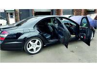 MERCEDES BENZ S CLASS S320 2007 94,800 MILES FULL SERVICES HISTORY 3.0 DIESEL SEMI AUTO BLACK SALOON