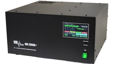 OM-Power 2000A 2KW+ HF/50mhz Fully Automatic Linear Amplifier 1 x fu728