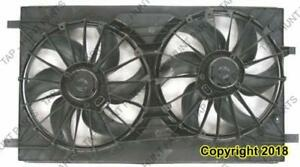 Cooling Fan Assembly Same As Ch3115149 Jeep Compass 2011-2016