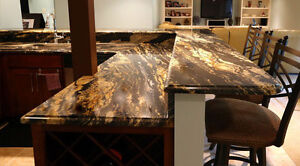 EnjoyHome Granite/Quartz Kitchen Counter top For Sale Cambridge Kitchener Area image 2