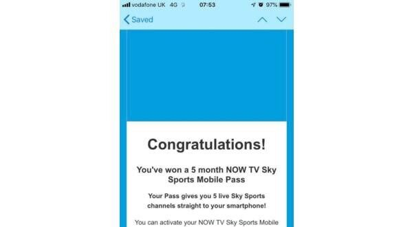5 months Sky Sports Mobile Now TV | in Cults, Aberdeen | Gumtree