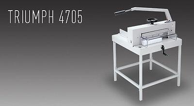 Triumph 4705 Manual Tabletop Cutter - New