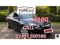 PCO RENT ONLY £100 VAUXHALL INSIGNIA AUTO ZAFIRA FORD GALAXY UBER READY CAR HIRE 7 SEATER CABS TAXI