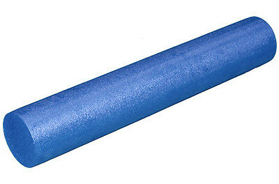 "6' X 36"" BLUE FOAM ROLLER for YOGA, PILATES and MYOFASCIAL MASSAGE"