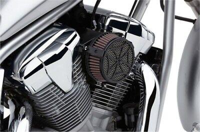 Cobra Black Cross Air Cleaner Intake for 2013-2014 Yamaha Bolt XV950 06-0267-02B