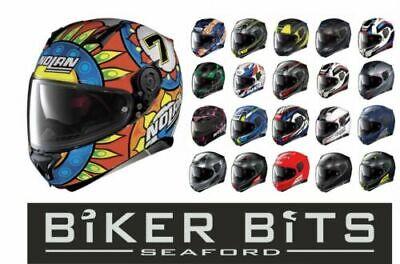 NOLAN N87 Motorcycle Full Face Helmet with Pinlock & Sun Visor RIDE BEST