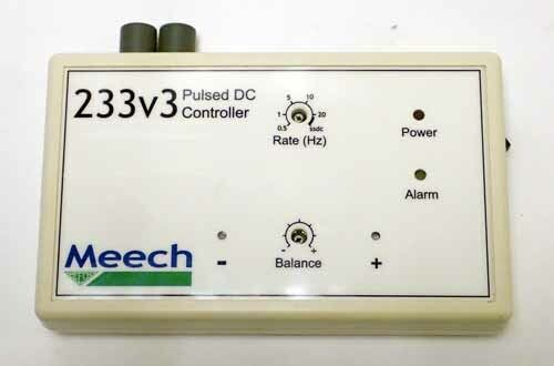 Meech 233v3 Pulsed Dc Controller 5w 24 Vdc 3.5mm Jack Plug For Esd Applications