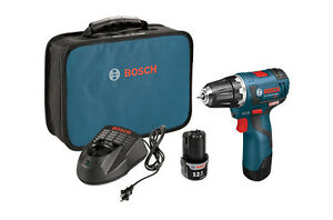 Bosch PS32-02 Brushless Cordless Drill Driver Kit 12V Max Li-Ion 3/8