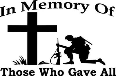 support our troops army vinyl car sticker graphic decal poppy day in memory of