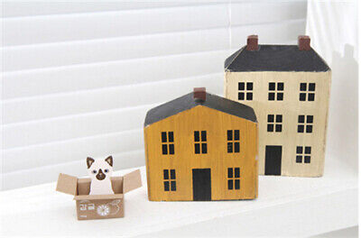 Cute Cat Kawaii Kitty House Adhesive Sticky Notes Memo Pad Stationery Bookmark