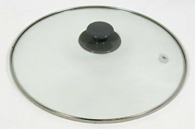 Crock Pot & Slow Cooker 5, 6 Qt Replacement Round Glass Lid for Rival