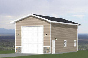 36x40 apartment with 1 car 1 rv garage pdf floor plan 901 sq ft model 1 ebay - Garage for rv model ...