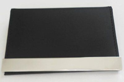 New Business And Credit Card Case Genuine Leather And Stainless Steel Nib