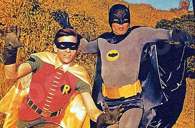 BATMAN and ROBIN  60's  LARGE FRIDGE MAGNET - KITSCH KLASSIC!