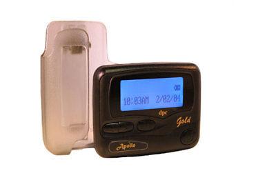Apollo Gold Alphanumeric Pager Hand Programmable Pocsag Quantity 1 450 470Mhz