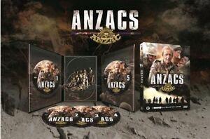 THE ANZACS (1985 Paul Hogan) Miniseries -  DVD - PAL Region 2 - New