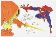 Spiderman Animation Cel