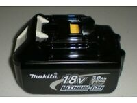 Makita BL1830 18V 3.0Ah LXT Li-Ion Battery Genuine Star battery in pac