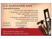 L.C GARDENER AND HANDYMAN