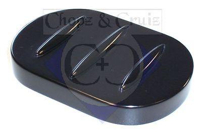 Abdeckung Bremspedal - C&C - Aluminium - schwarz