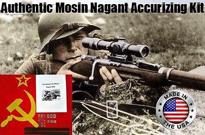 Accurizing Master Shim Kit For Mosin Nagant M38 M44 91/30 PE PEM PU Sniper 54r