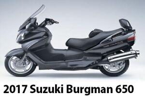 2017 Burgman 650 Suzuki Executive Like New 300 Kilometers