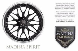 Madina Spirit 3 Piece Forged  Alloy Wheels Glencoe Glen Innes Area Preview