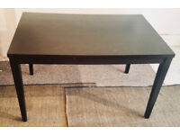 BLACK IKEA DINING TABLE NW3