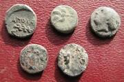 Uncleaned Greek Coins