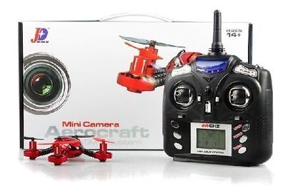 JXD 392 2.4Ghz 4CH 6-Axis Gyro Remote Control RC Quad copter with Camera US Ship