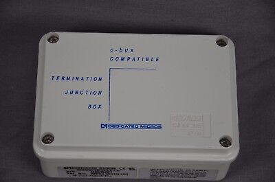 Dedicated Micros Termination Junction Boxes Dmcj01 - Lot Of 2