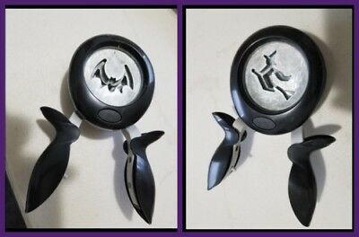 Fiskars RARE HALLOWEEN HOLIDAY Squeeze Paper Punch Extremely VHTF BAT or WITCH ](Halloween Bat Punch)