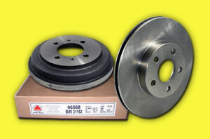 Brand New High Quality Brake Pads & Brake Rotors Honda Toyota
