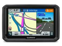 GARMIN DEZL 570 LMT-D5 TRUCK/LORRY/CAR SATELITE NAVIGATION SYSTEM BLACK,WITH STAND CHARGER AND BAG