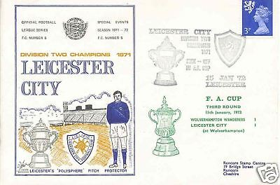 Dawn Football cover 1972 0105 Wolverhampton Wanderers v Leicester City 1-1