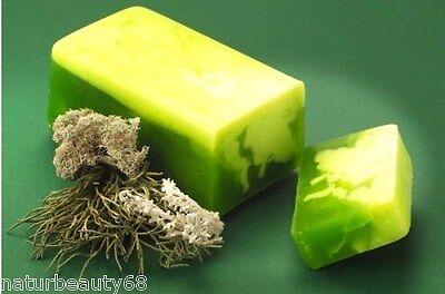 Naturseife Duftseife Isländisches Moos mit Olivenöl, äther. Öle 80g (100g/4,11€)