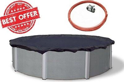 15-ft Pool Cover Foot Round Above Ground Winter Swimming Best Dirt Defender