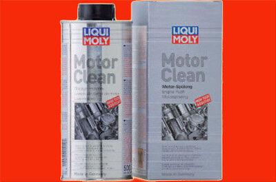 0,5 Liter Blech Dose (1L=29,98 €) LIQUI MOLY Motor Clean 1019 Motorenreiniger Öl - Wäsche Wechseln