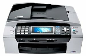 Brother All in One Multifunction Wireless Color Fax Printer
