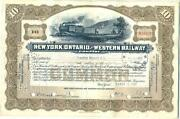 New York Ontario Western Railroad