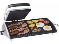 George Foreman ultimate griddle and grill for an entire meal