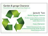 Garden & Garage Clearance Services