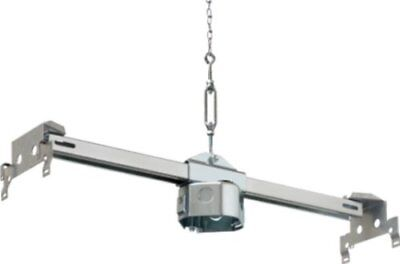 Arlington FBRS420SC-1 Steel Fan & Fixture Fan Mounting Box for Suspended Ceiling