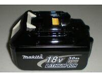 Genuine Makita 18V 3.0Ah Li-Ion LXT Battery BL1830 NEW