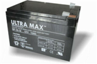 NP12-12 Ultramax 12v 12Ah Lead Acid Battery
