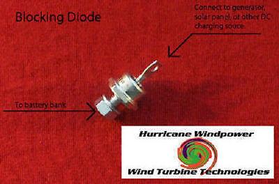 40 Amp 600 Volt Blocking Diode for Wind Generator, Wind Turbine, Solar Panel
