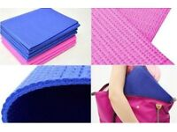 Foldable Non Slip Yoga Mats Exercise Gym Fitness Pilates Physio 6mm Foam Camping