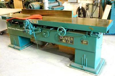 16 Oliver 12 Model Jointer