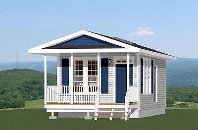 14X28 Tiny House    Pdf Floor Plans    Model 2